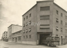 1955 - RENI Autolinee Rimessa Bus